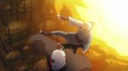 Shin utiliza al clon como escudo humano