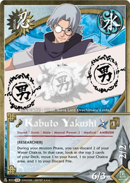 Kabuto Yakushi FotS