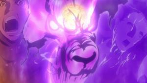 Paso Suave Puños Gemelos de León Espiral Anime