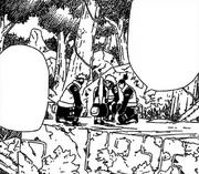 Shikamaru com sua equipe