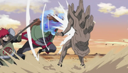 Choji y Choza atacan al Gedo Mazo