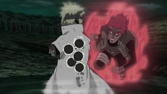 Minato shields Guy