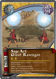 Sage Art: Giant Rasengan