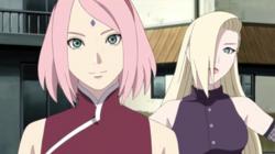 Sakura e Ino il matrimonio di naruto