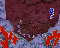 Formación de los Cuatro Yang Rojos Manga
