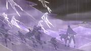 Invocación Estatua Demoníaca del Camino Exterior Anime 3