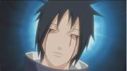 Izuna le deja sus ojos como legado a su hermano mayor