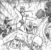 Naruto chega na Divisão Médica