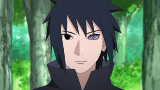 Sasuke Uchiha Parte II Anime