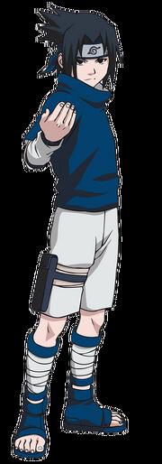 Sasuke dans la partie I