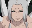 Kimimaro resucitado por la Invocación Reencarnación del Mundo Impuro