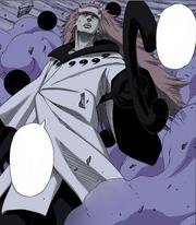 Madara diz que terminará a tarefa de Zetsu Negro em seu lugar (Mangá Colorido)
