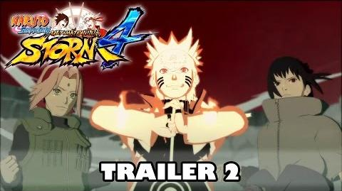 Naruto Shippuden Ultimate Ninja Storm 4 Trailer 2 (OFFICIAL WITH NEW GAMEPLAY)