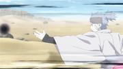 Urashiki usando o chakra de Shikadai