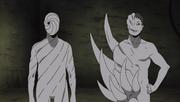 Zetsu Blanco y Tobi se presentan ante Obito para cuidarlo