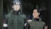 Asuma félicite Shikamaru
