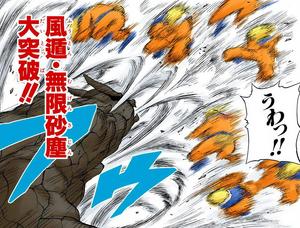 Elemento Viento Nube de Arena Infinita — Gran Ruptura Manga