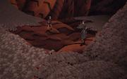Guren y Naruto son rodeados por los Mini Clones de Isobu
