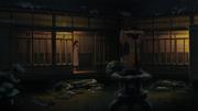 Hanabi espiando a Hinata