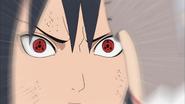Izuna ativa seu Sharingan