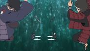 Tajima ataca Tobirama e Butsuma ataca Izuna