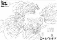 Arte Pierrot - Tigre Diurno