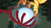 Naruto e Minato atacam Obito