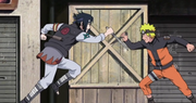 Naruto y Sasuke luchan luego de reencontrarse