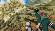 Elemento Tierra Derrumbamiento de Roca