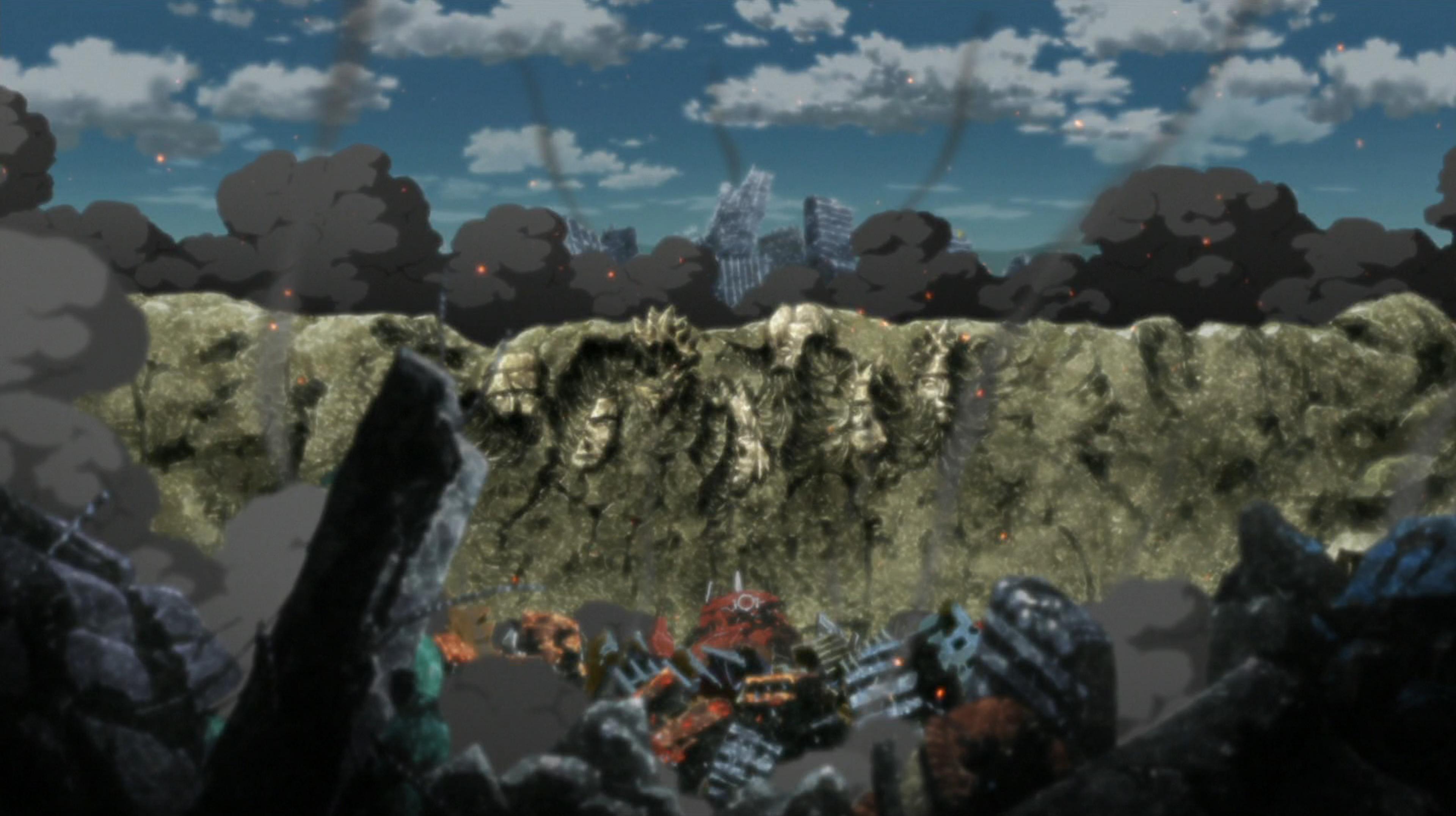 Konohagakure narutopedia fandom powered by wikia konoha destroyed again biocorpaavc Image collections