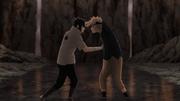 Naruto et Sasuke fin du taijutsu