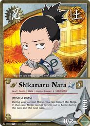 Shikamaru Nara TP2