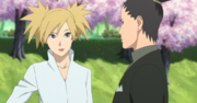 Shikamaru se encuentra con Temari