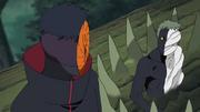 Zetsu Negro dialoga con Tobi