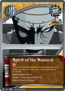 Espiritu de el Samurai