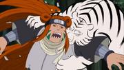 Fuguki siendo sellado