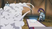 Yugao selando um corpo