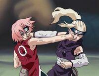 Ino vs Sakura