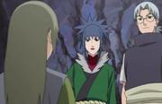 Kabuto le entrega Yukimaru a Guren