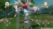 Naruto Storm 2 Tsunade vs Jiraiya