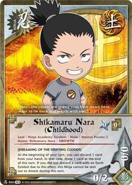 Shikamaru Nara (Infancia) TP2