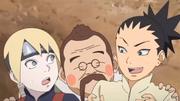 Chōbee convida Inojin e Shikadai