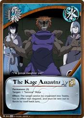 El Asesino del Kage Carta