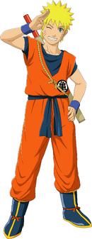 Naruto Goku Custome