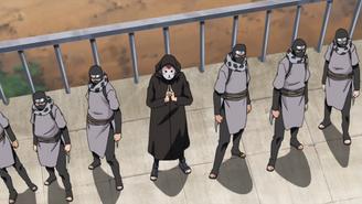 Kabuto begins attack