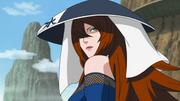 Mei com chapéu de Mizukage