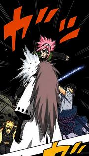 Sakura ataca Madara (Colorido)