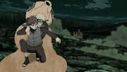Gaara resgata Naruto