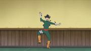 Lee é derrotado pelas shuriken