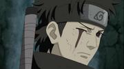 Shisui sem seu olho direito